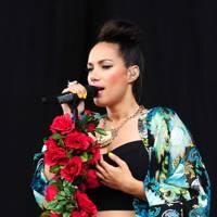 Leona Lewis performs at Radio 1's Hackney Weekend