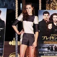 Kristen Stewart at the Japan premiere