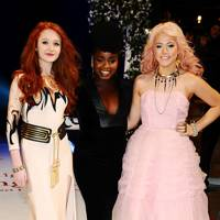 X Factor's Janet Devlin, Misha B & Amelia Lily at the UK premiere of Breaking Dawn