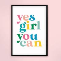 Feminist gifts: the typography print