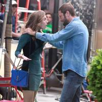 Ebon Moss-Bachrach & Allison Williams in GIRLS