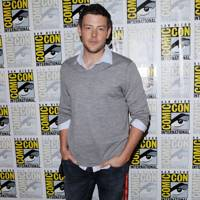 Cory Monteith at Comic-Con 2012