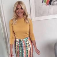 Holly raises the fashion stakes again