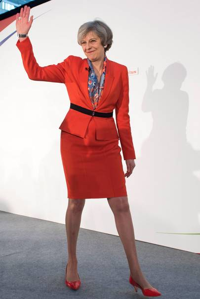 Theresa May S Fashion Through The Years Glamour Uk