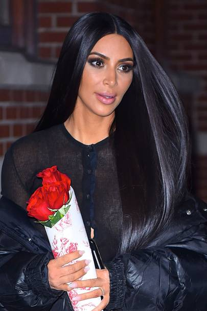 Kim Kardashian New Hair Short Hairstyle