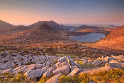 Northern Ireland: Mourne-Mountains, County Down