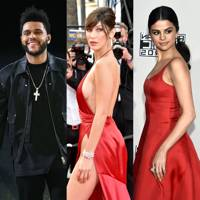 The Weeknd: Hot brunettes