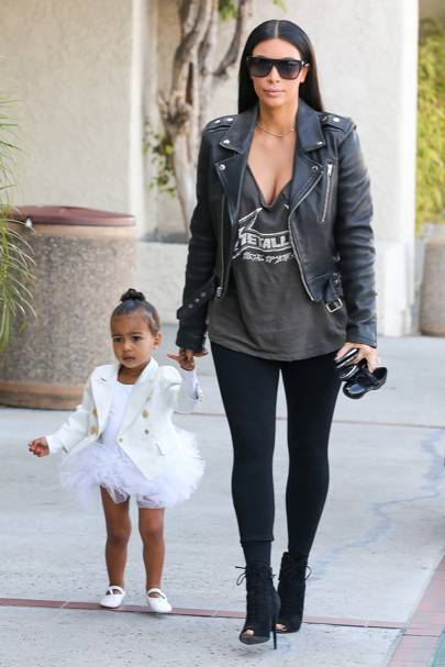 "North West shouts ""NO pictures!"" again (at her mum)"