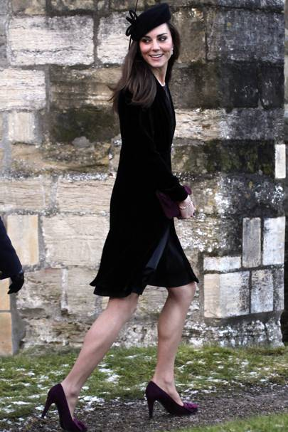 Kate Middleton – Black Out