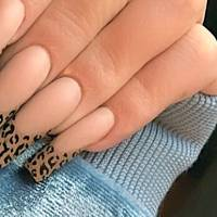 kylie jenner just made the leopard french manicure the