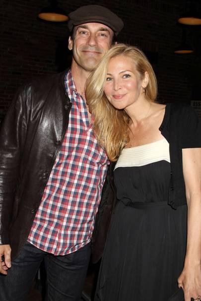September: Jon Hamm & Jennifer Westfeldt