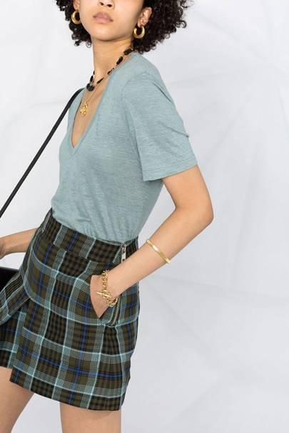Best V neck t-shirts: Isabel Marant Etoile