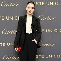 DO #6: Lily Collins at the  Cartier Juste Un Clou party, April