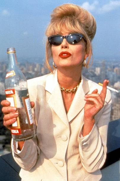 Patsy Stone's Smuggling Beehive – Absolutely Fabulous, 1992