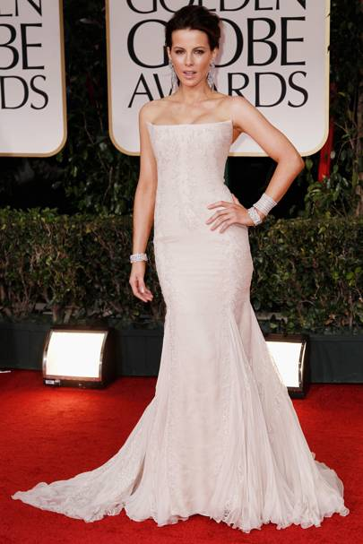 Kate Beckinsale at the Golden Globes 2012