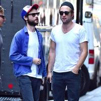 Robert Pattinson & Tom Sturridge