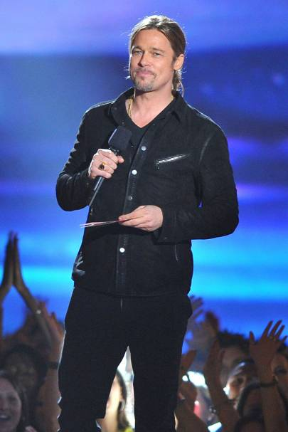 Brad Pitt at the MTV Movie Awards