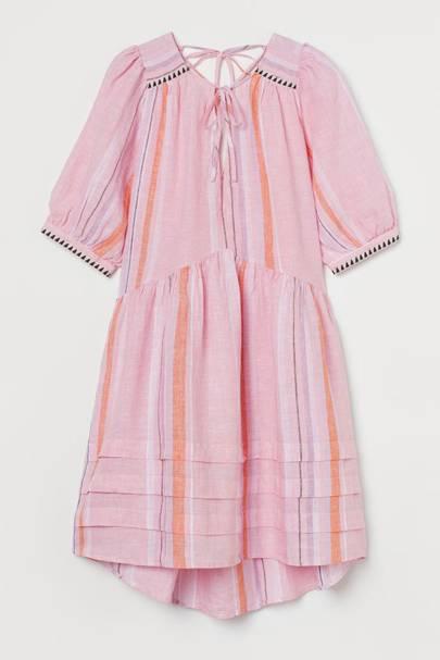 Linen dresses: H&M
