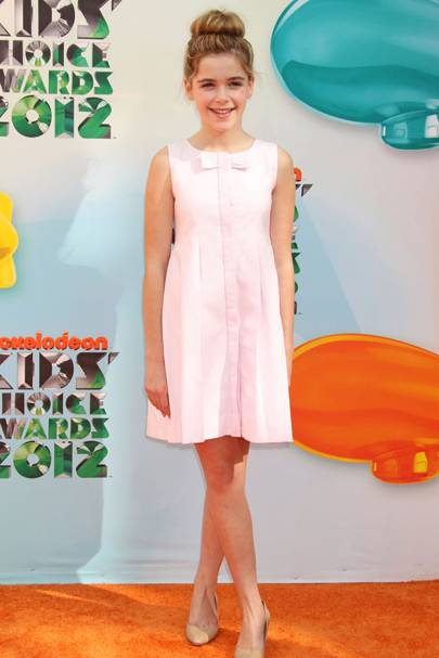 Kiernan Shipka at the Kids' Choice Awards 2012