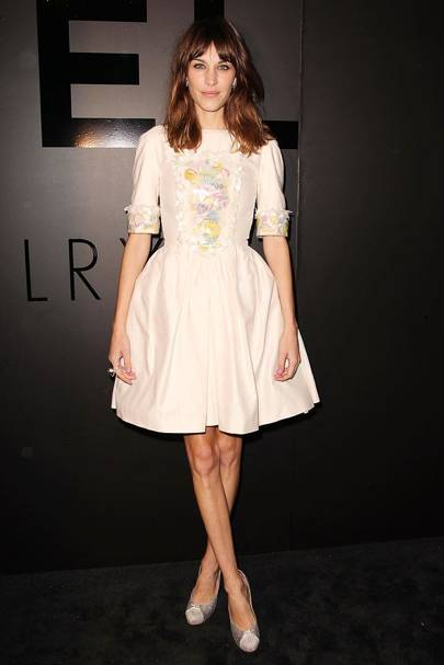 DO #7: Alexa Chung at a Chanel Fine Jewellery party, October