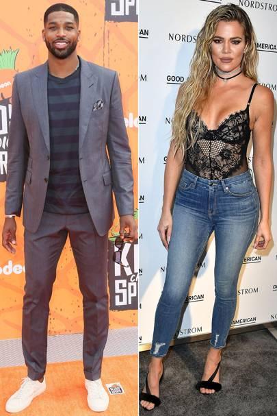 Khloé Kardashian & Tristan Thompson