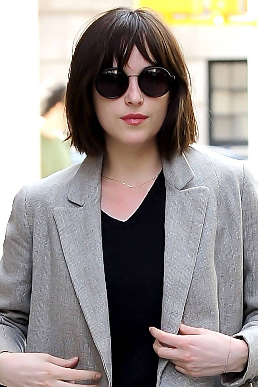 Dakota Johnson New Hair Long To Short Bob Hairstyle Glamour Uk