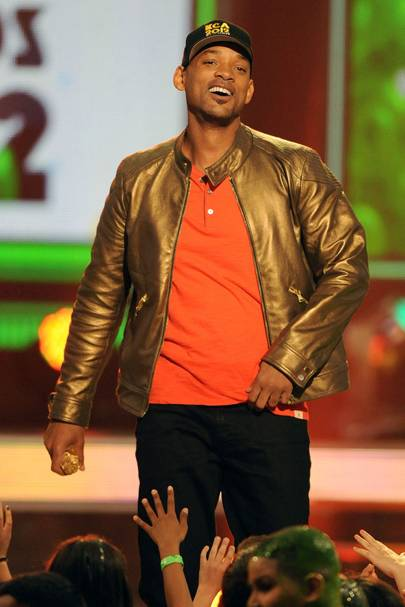 Will Smith at the Kids' Choice Awards