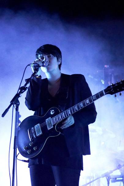 The XX perform at Bestival 2012