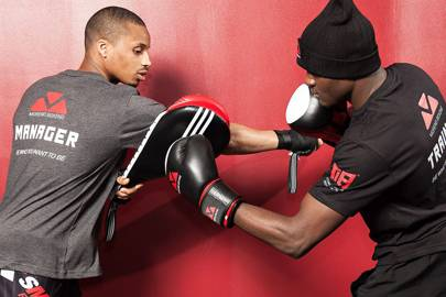 Technical Intensive Boxing Training