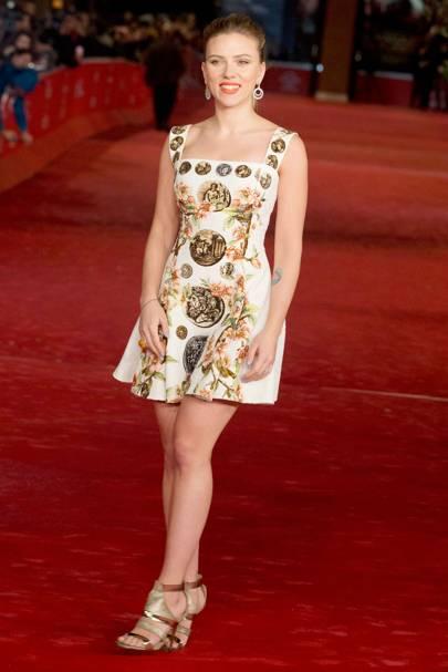 Scarlett Johansson at the Rome Film Festival