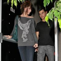 Taylor Lautner & Taylor Swift