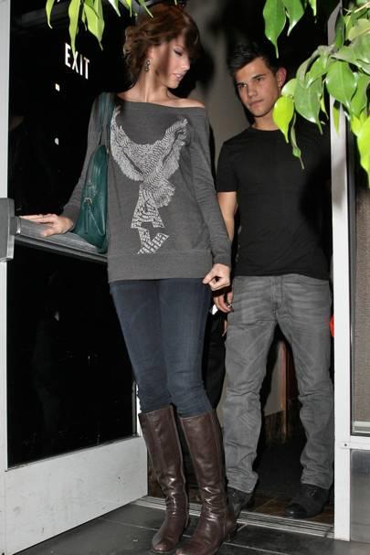 Taylor Lautner & Taylor Swift
