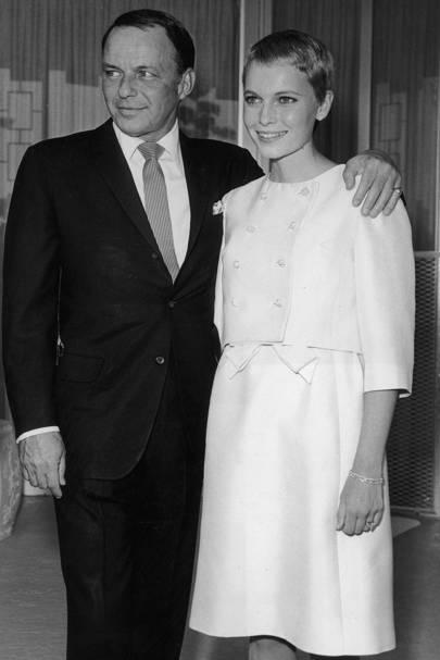 Mia Farrow & Frank Sinatra