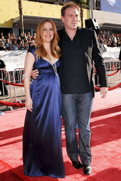 Gillian Anderson and Julian Ozanne