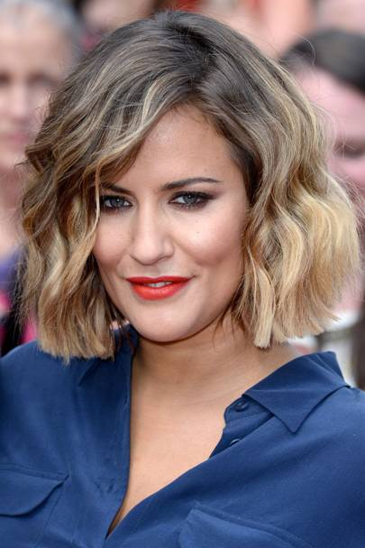 Caroline Flack Look Book Celebrity Hair And Hairstyles Glamour Uk