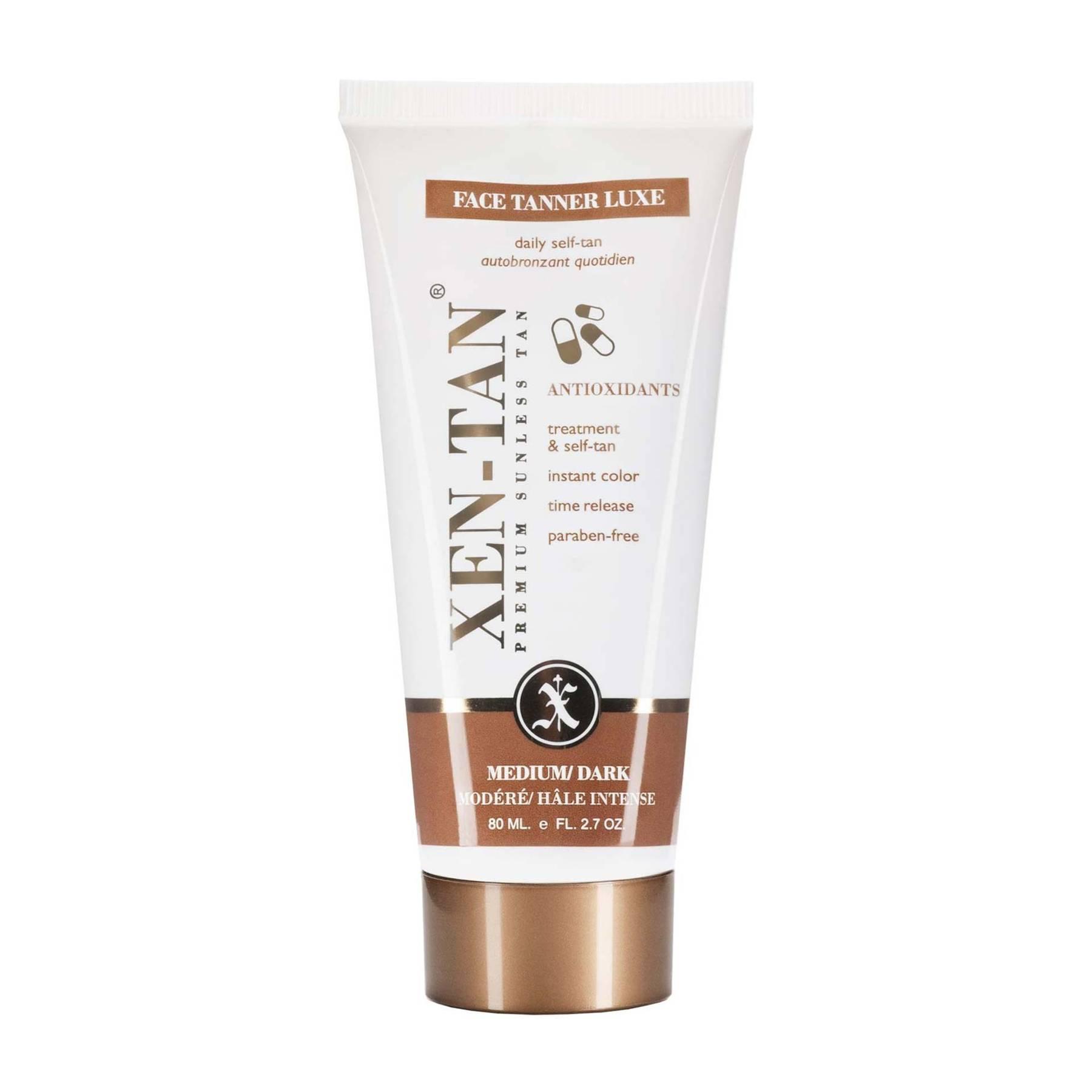 Facial tanning cream