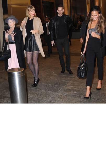 Kelly Osbourne, Taylor Swift, Chrissy Teigen
