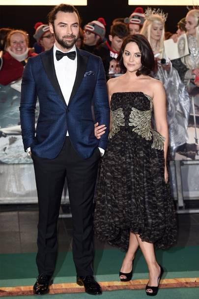 November: Aidan Turner & Sarah Greene