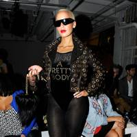 DON'T #9: Amber Rose at London Fashion Week, September