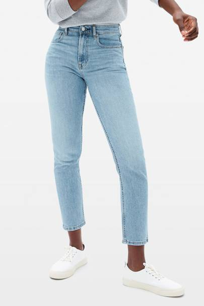 SUSTAINABLE DENIM 2021 - CROPPED SKINNY JEANS