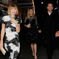Anna Wintour, Bradley Cooper & Suki Waterhouse