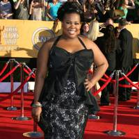 Amber Riley at the SAGs 2012