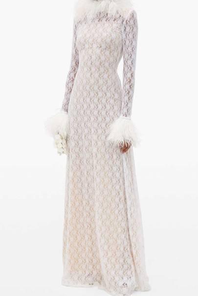 LONG-SLEEVED WEDDING DRESS: LACE