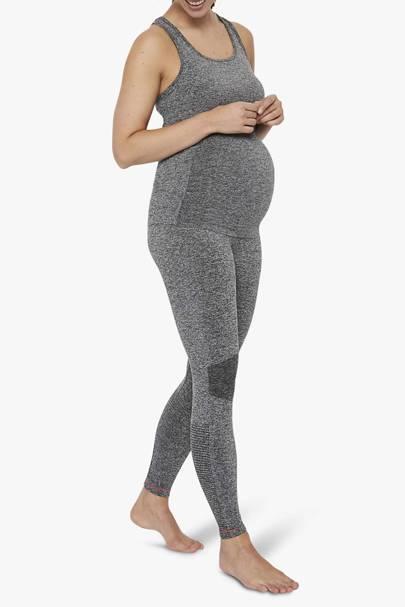 Maternity leggings thick