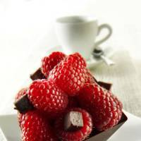 Raspberries and Chocolate