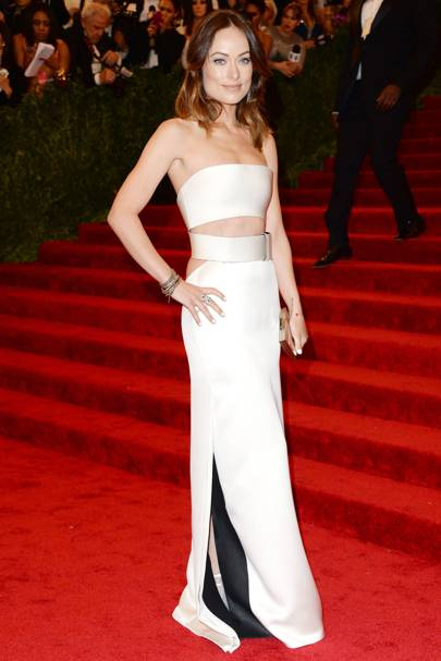 Olivia Wilde at the Met Gala