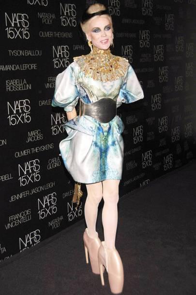 Daphne Guinness's Armadillo heels