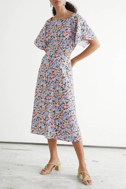 & Other Stories Sale Floral Dress