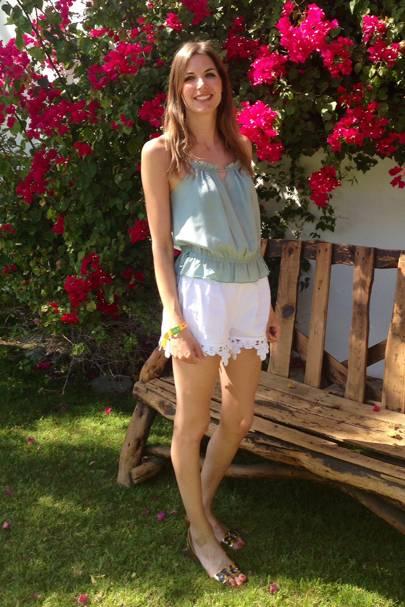 GLAMOUR's Gemma - Day 2, Coachella Festival