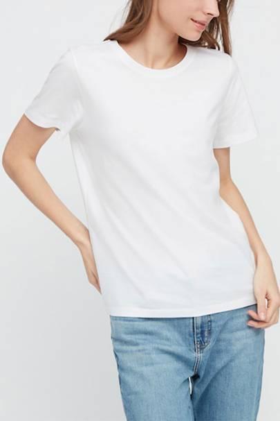 Best Cheap White T-Shirts: Uniqlo White T-Shirts